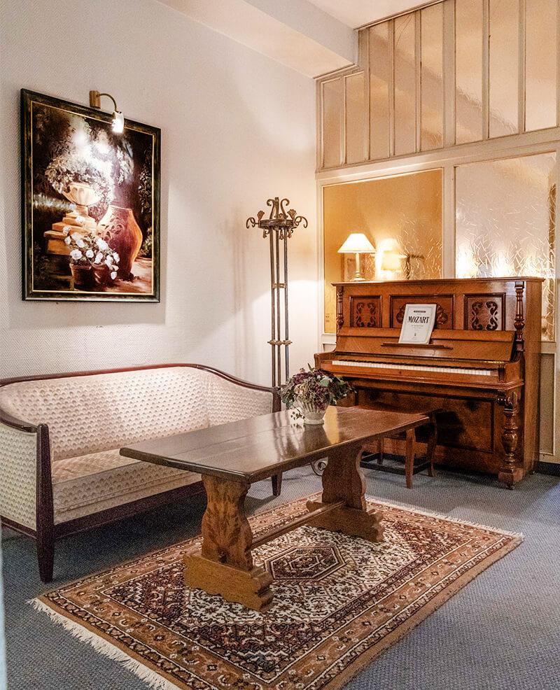Einrichtung Hotel Mozart